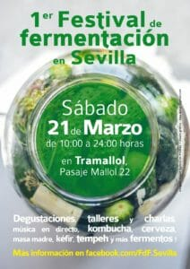 sabato 21 marzo – Festival de Fermentacion – Siviglia (Spagna)