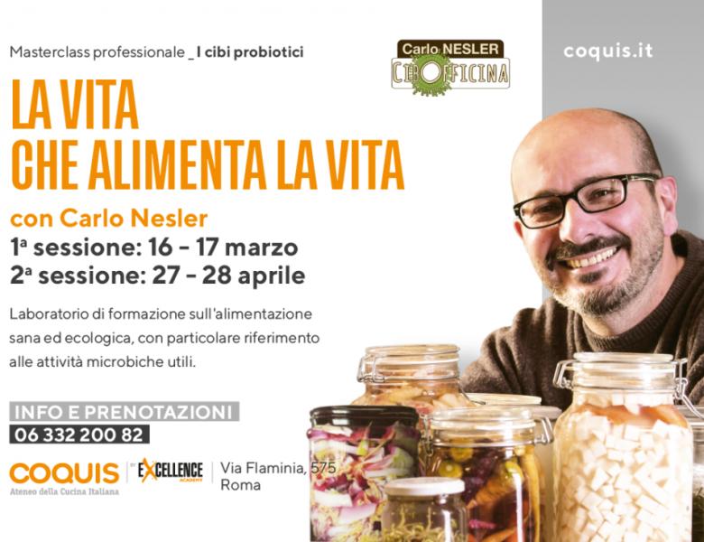 """16 e 17 marzo – 27 e 28 aprile – """"Corso per professionisti"""" – Ateneo della Cucina Italiana – Roma"""